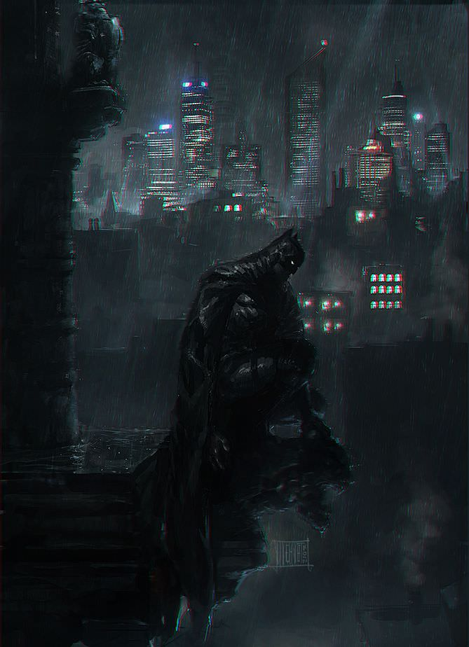 Batman Fan Art by Mehmet Ozen