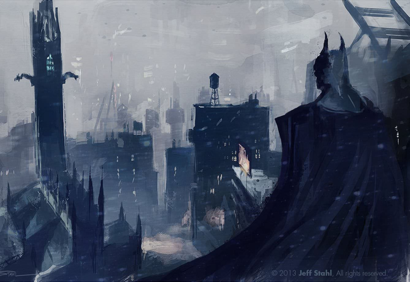 Batman Fanart by Jeff Stahl