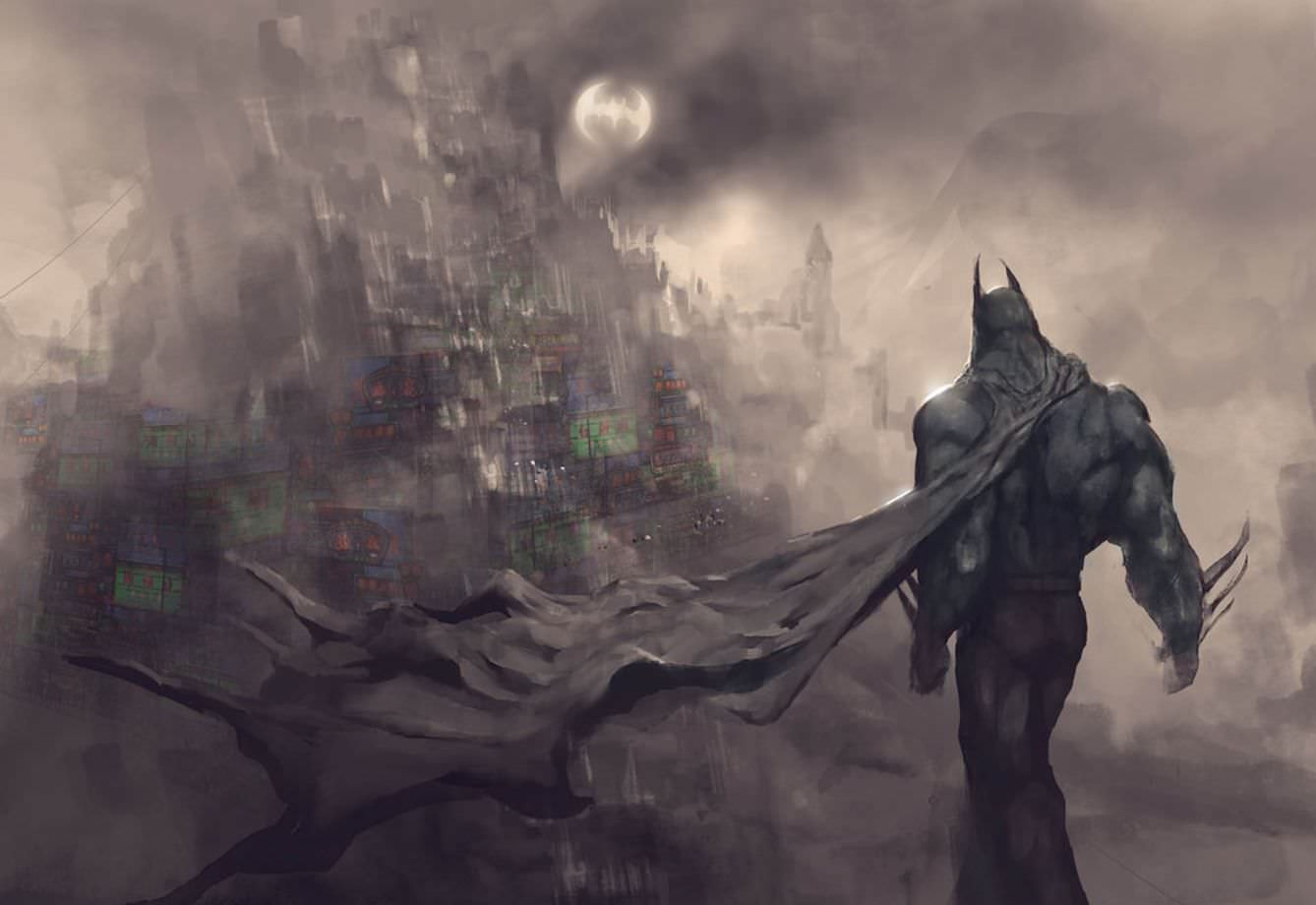 Batman Landscape by g8crasherboy