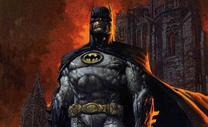 Celebrate Batman Day with this Batman art by David Finch