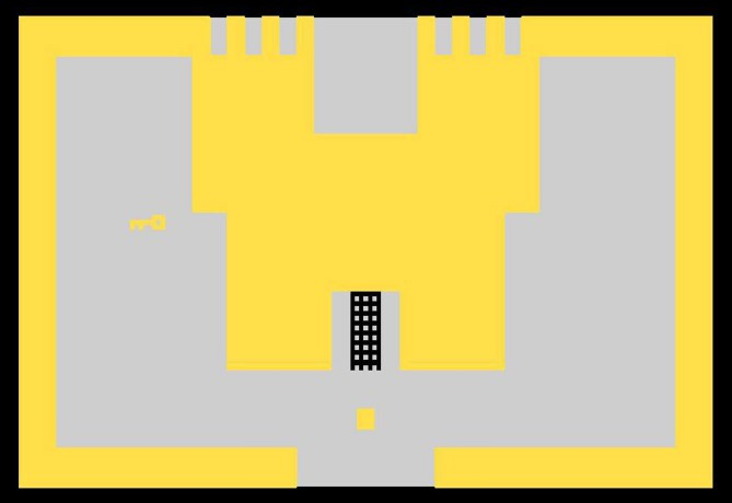 Screen image of Atari 2600 Adventure game