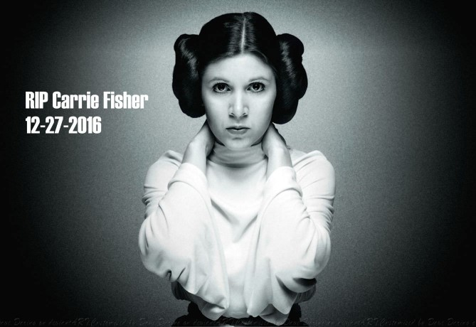 RIP Carrie Fisher - 12-27-2016