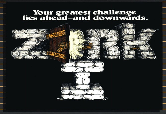 Cover image for Infocom's text adventure game Zork I