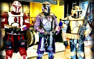 Star Wars Cosplayers at DragonCon 2017