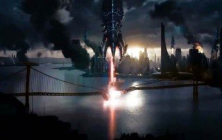 Screenshot from Attack on London - Mass Effect 3