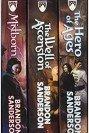 Mistborn Trilogy Boxed Set cover artwork
