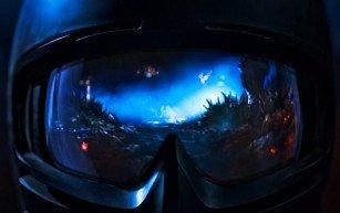 Screenshot from Federico Heller's VR themed short Uncanny Valley